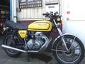 中型在庫-CB400F黄色